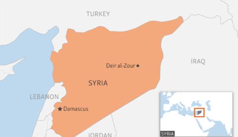 "deir al-zour dang co nguy co tro thanh ""noi ham"" o syria"