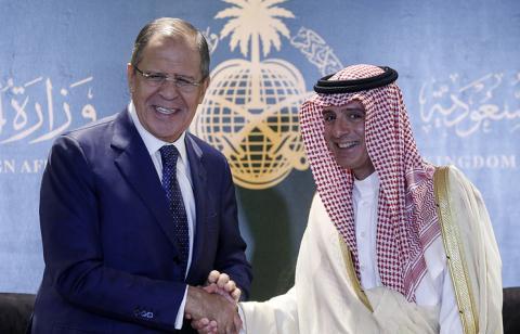 ngoai truong lavrov trong chuyen tham toi saudi arabia
