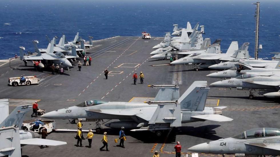 """Mỹ - Nhật """"bí mật"""" tập trận nhằm cảnh cáo Trung – Triều"""