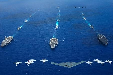 Mỹ - Trung vào cuộc chạy đua vũ trang mới