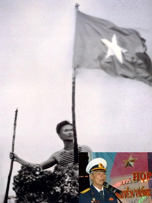 dai ta nguyen van dan cam quoc ky viet nam tren mom da san ho cao nhat cua da len dao, ngay 22/4/1988