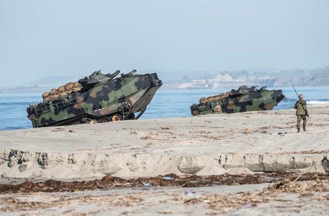 Mỹ, Nhật tập trận tái chiếm đảo
