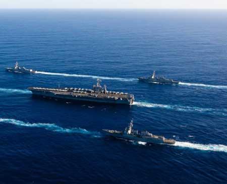 Tin tức tình hình Biển Đông sáng 10-2-2017:Mạnh mẽ chỉ trích Trung Quốc - Mỹ khẳng định bảo vệ đồng minh