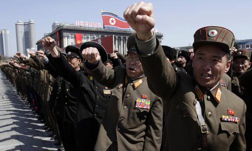 Tình hình căng thẳng trên bán đảo Triều Tiên 14-04-2017