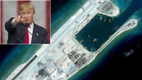 Tổng thống Mỹ Donald Trump: Đã đến lúc phải dạy cho Bắc Kinh một bài học nhớ đời...!