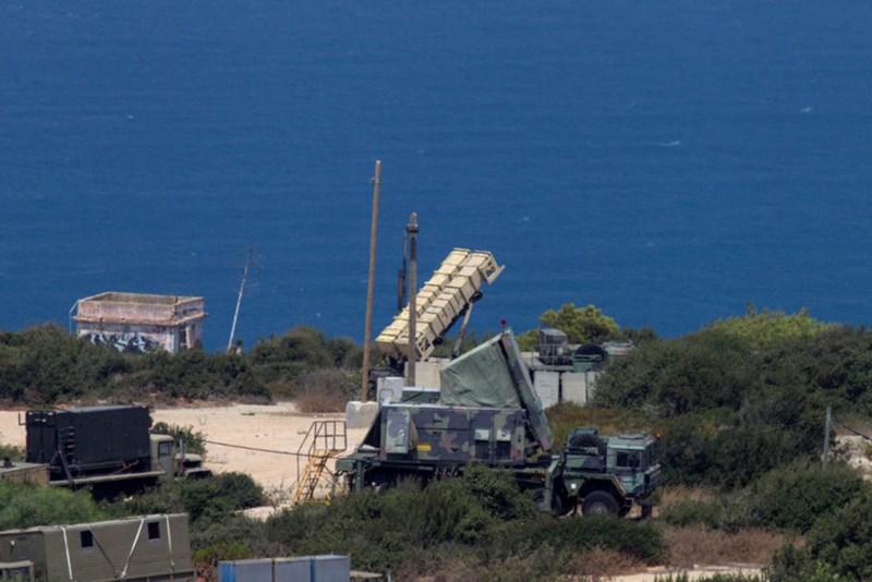 Tên lửa đánh chặn Patriot được triển khai ở TP Haifa phía bắc Israel, tháng 8-2013. Ảnh: REUTERS