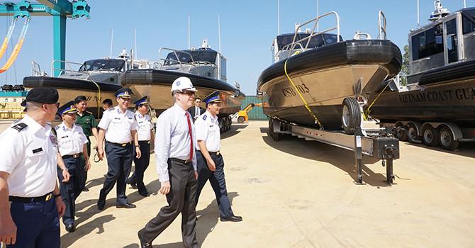 Năng lực xuồng tuần tra Mỹ vừa bàn giao cho Cảnh sát biển Việt Nam