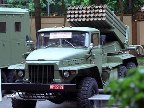 BM-21M-1 Việt Nam mạnh vượt trội nếu dùng đạn dẫn đường Israel