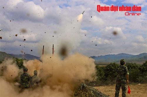 Tên lửa vác vai A87 tham gia bắn đạn thật