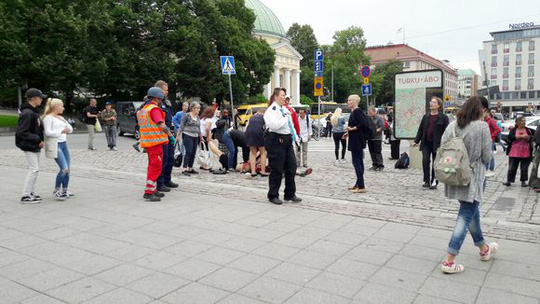 Đâm chém loạn xạ tại Phần Lan - Ảnh 3.