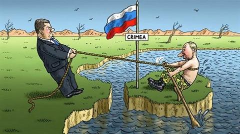 ukraine van quyet tam doi lai ban dao crimea tu tay nga
