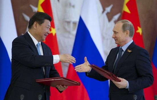 Trung Quốc, Nga hợp tác theo sáng kiến 'Một vành đai, một con đường'