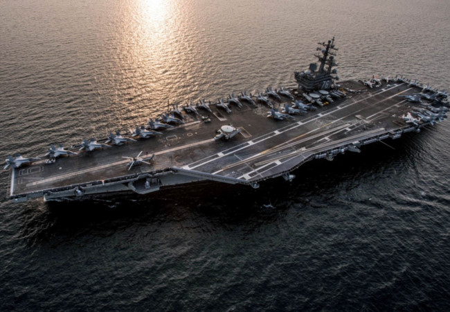 Mỹ điều tàu sân bay USS Ronald Reagan tuần tra Biển Đông