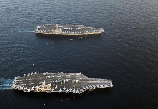 Báo Mỹ: Phong tỏa đảo nhân tạo phi pháp Trung Quốc ở Biển Đông là đúng luật (2)