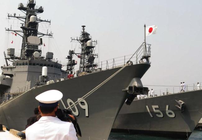 Việt Nam được mời dự hội chợ vũ khí tại Nhật Bản