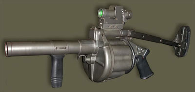 Việt Nam chế tạo súng phóng lựu tự động
