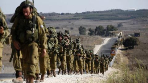 binh si israel hanh quan