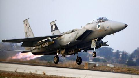 may bay chien dau f-15 cua israel