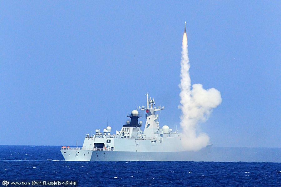 Trung Quốc liên tục tập trận bắn đạn thật quy mô lớn ở Biển Đông