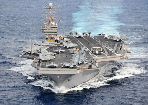 Quân đội Mỹ ào ạt kéo đến Thái Bình Dương