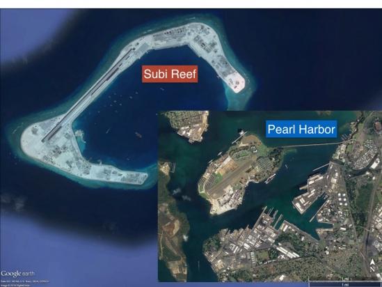 Tin tức tình hình Biển Đông 08-12-2017: Trung Quốc tiếp tục mở rộng đảo nhân tạo tại đá Subi thuộc quần đảo Trường Sa của Việt Nam