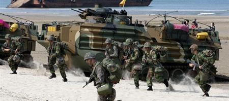 Thách thức với Hải quân Hàn Quốc