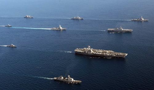 Vì sao tàu sân bay Mỹ đến Hoa Đông?
