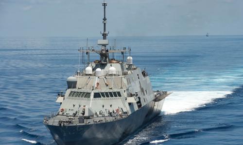 Thách thức Trung Quốc đặt ra cho tàu chiến Mỹ trên Biển Đông