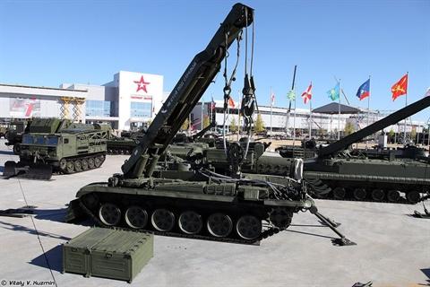 Việt Nam mua T-90S/SK bao gồm cả BREM-1M?