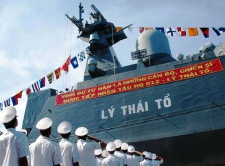 Hải quân triển khai hội thi vũ khí, trang thiết bị tàu chiến
