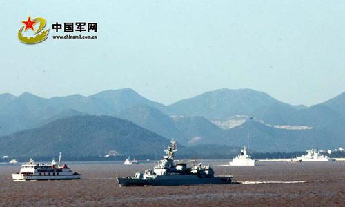 Cận cảnh cuộc tập trận của Trung Quốc sát sườn Nhật