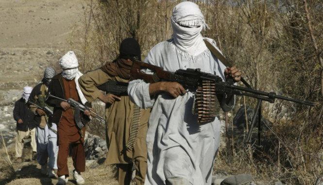 cac tay sung taliban - anh: reuters
