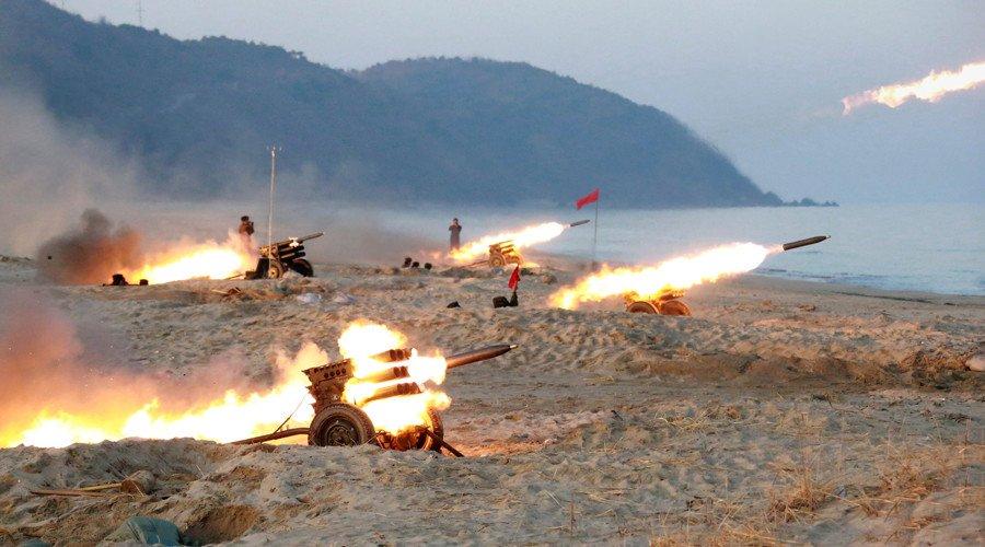 Tình hình căng thẳng trên bán đảo Triều Tiên 16-04-2017