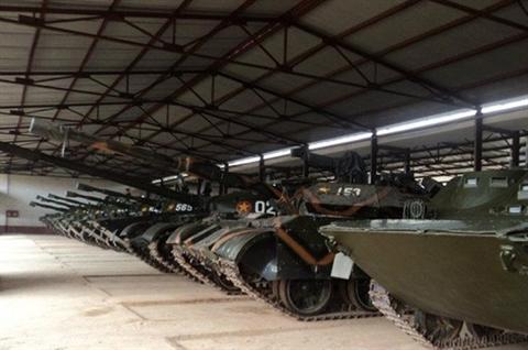 Việt Nam đã nâng cấp được bao nhiêu chiếc T-55?