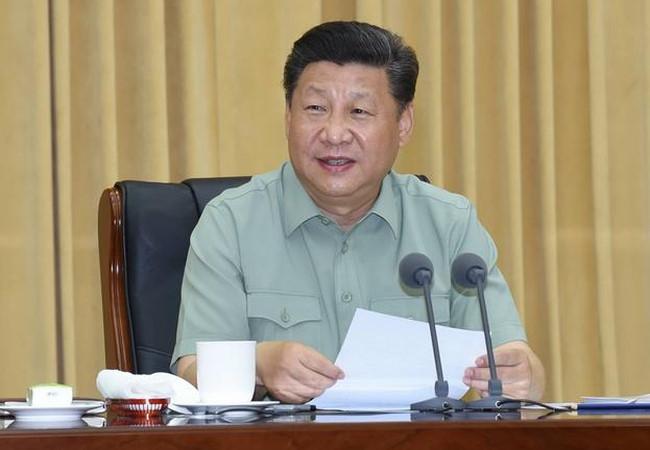 Trung Quốc tập trận toàn diện, ông Tập đích thân thị sát