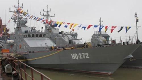 Khám phá 4 tàu chiến do Việt Nam sản xuất