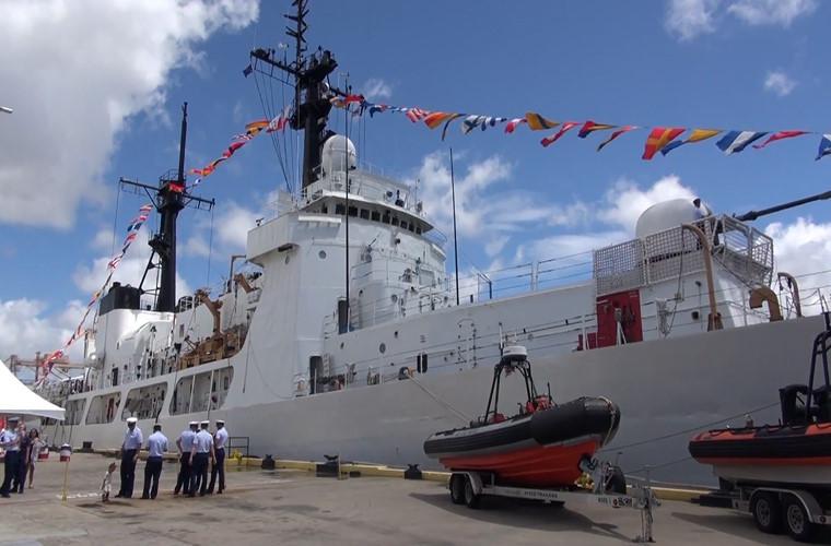Tin tức tình hình Biển Đông chiều 08-10-2017: Mỹ bàn giao tàu cảnh sát biển cỡ lớn cho Việt Nam