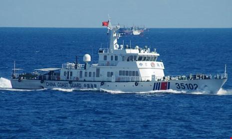 Phát hiện tàu Trung Quốc lượn lờ ở vùng biển Malaysia