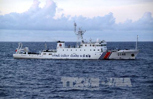 Hàng loạt tàu Trung Quốc vào vùng biển của Nhật Bản