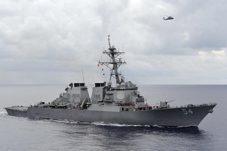 Thông tin về  Khu trục hạm Mỹ vừa tuần tra tự do hàng hải ở Biển Đông