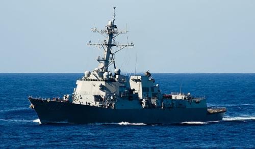 Tàu Mỹ lần đầu tuần tra tự do hàng hải Biển Đông dưới thời Trump
