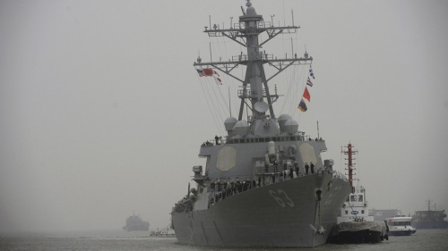 Mỹ cử tàu khu trục tên lửa đến Biển Đông