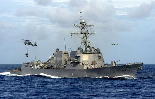 Việt Nam lên tiếng về việc tàu Mỹ tuần tra đá Vành Khăn