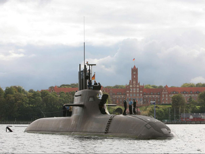 Uy lực tàu ngầm Đức