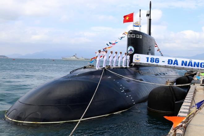 Sức mạnh của Hải quân Việt Nam: Đội tàu ngầm kilo Việt Nam