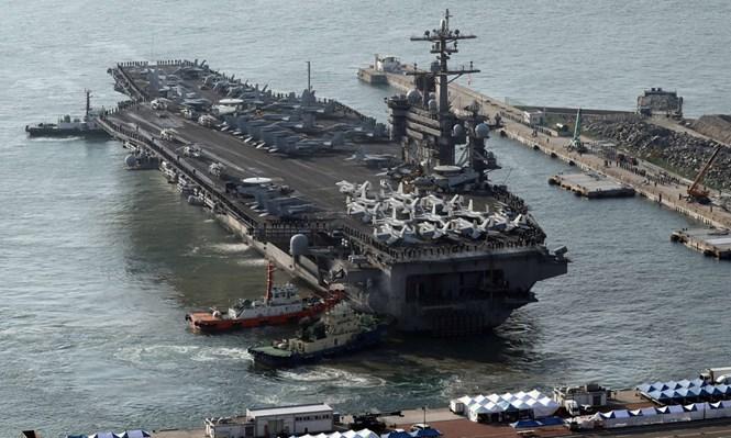 Hải quân Hàn, Mỹ tập trận quy mô lớn quanh bán đảo Triều Tiên