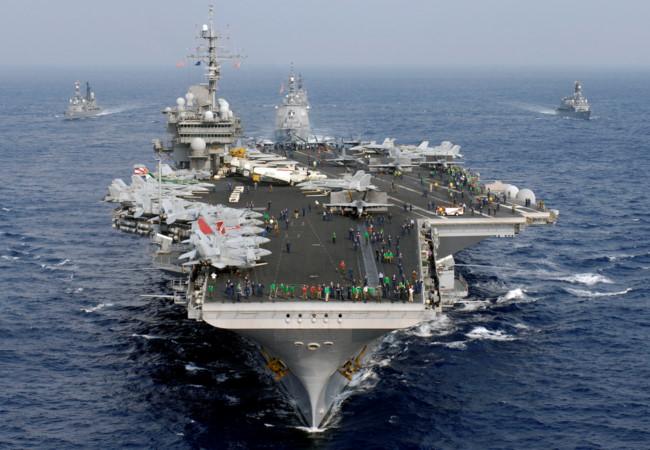 Tin tức tình hình Biển Đông tối 05-10-2017: Bận bịu với thùng thuốc súng Triều Tiên,  Mỹ vẫn canh cánh với nỗi lo Trung Quốc