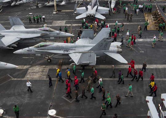 Mỹ và đồng minh tăng cường hiện diện và sức ép:  Phép thử ở biển Đông