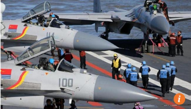 So với Mỹ, kíp tàu sân bay Trung Quốc mới là 'học sinh mẫu giáo'