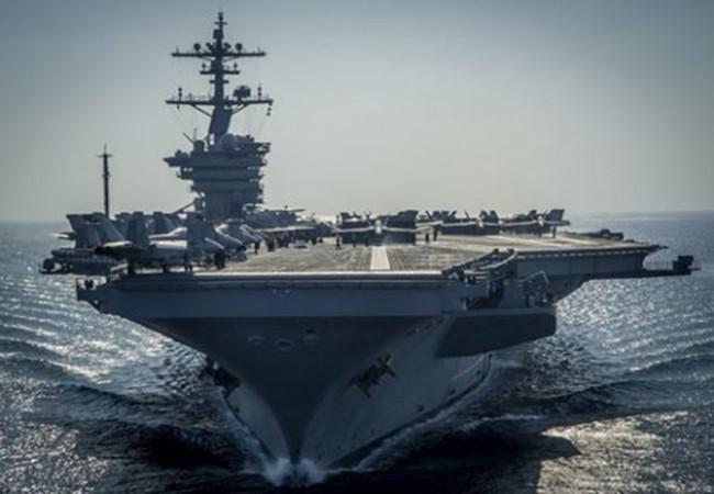 Tổng thống Trump bắt đầu 'lội' vào Biển Đông